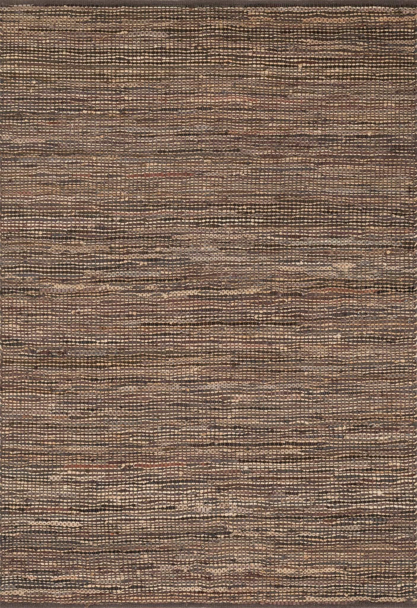 "Edge ED-01 Brown-Area Rug-Loloi-2'-3"" x 3'-9""-The Rug Truck"
