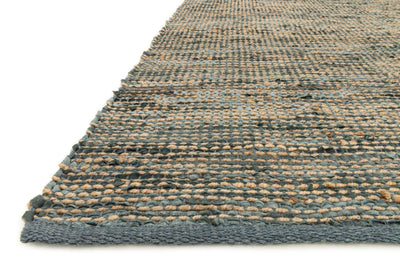 Edge ED-01 Grey-Area Rug-Loloi-The Rug Truck