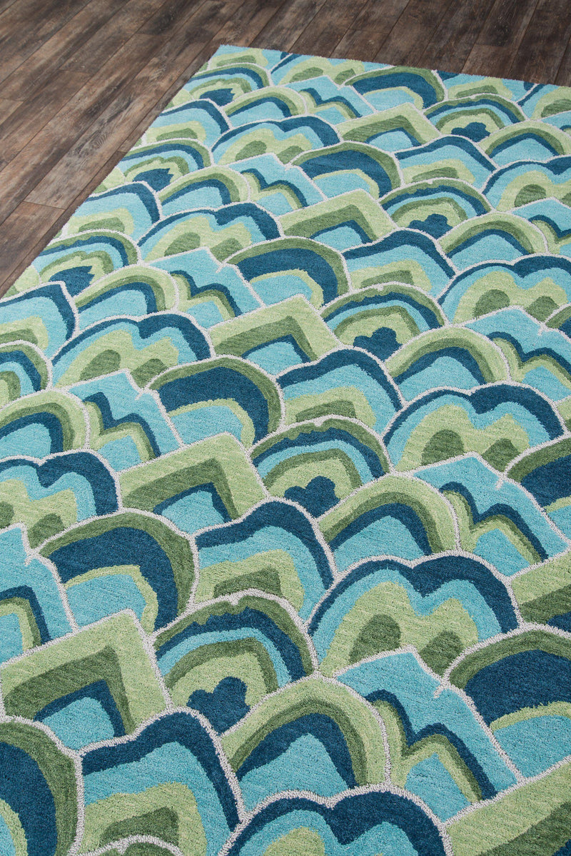 Madcap Cottage by Momeni Embrace Cloud Club Green Area Rug-Area Rug-Momeni-2' X 3'-The Rug Truck