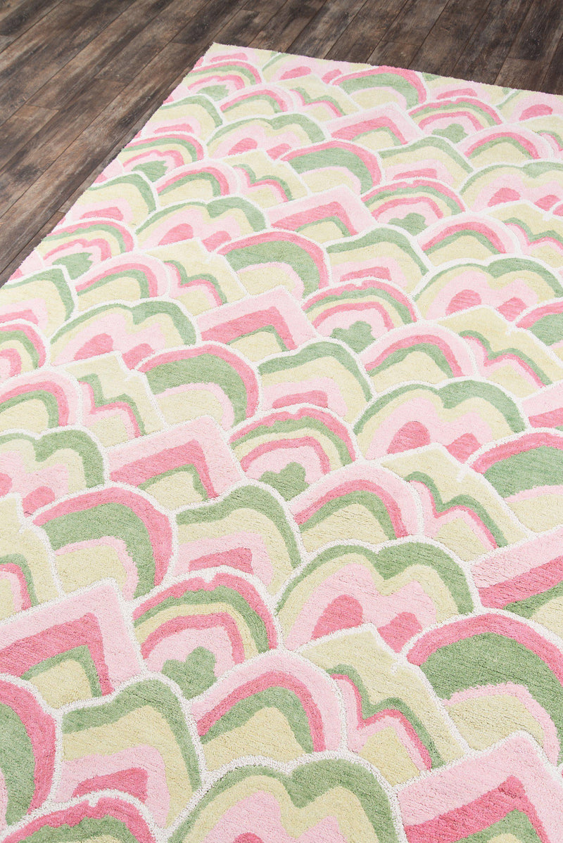 Madcap Cottage by Momeni Embrace Cloud Club Pink Area Rug-Area Rug-Momeni-2' X 3'-The Rug Truck
