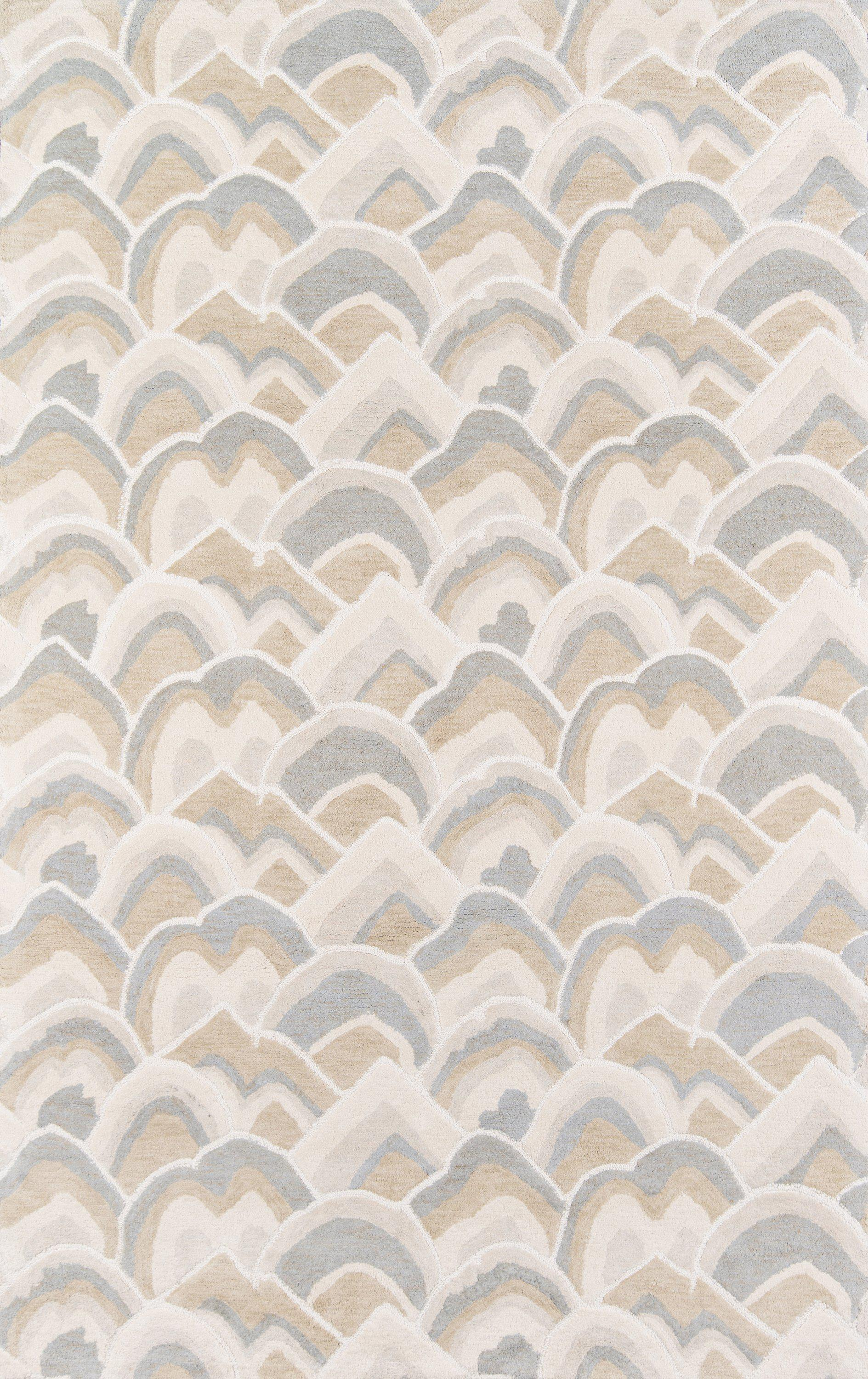 Madcap Cottage by Momeni Embrace Cloud Club Taupe Area Rug-Area Rug-Momeni-2' X 3'-The Rug Truck