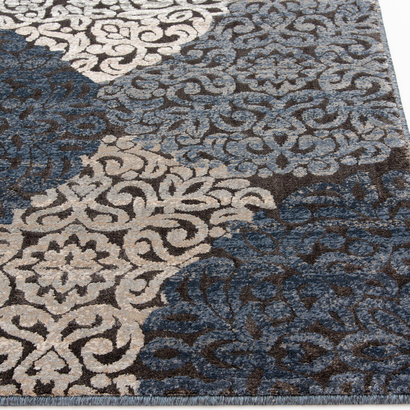 Trisha Yearwood Home Enjoy - Mallory - Chalk/Nightfall-Area Rug-Trisha Yearwood Home-The Rug Truck
