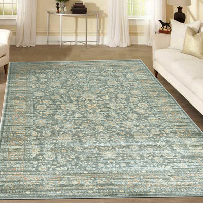 Francesca 501 Light Green Area Rug (7'10 x 10'6)