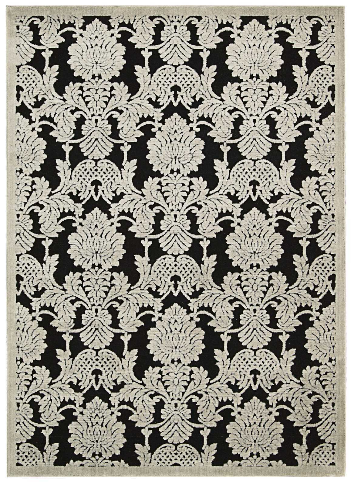 "Illuminate IL03 Black Area Rug-Area Rug-The Rug Truck-2'3"" x 3'9""-The Rug Truck"