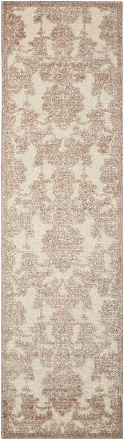 "Illuminate IL03 Ivory/Light Blue Area Rug-Area Rug-The Rug Truck-2'3"" x 8'-The Rug Truck"