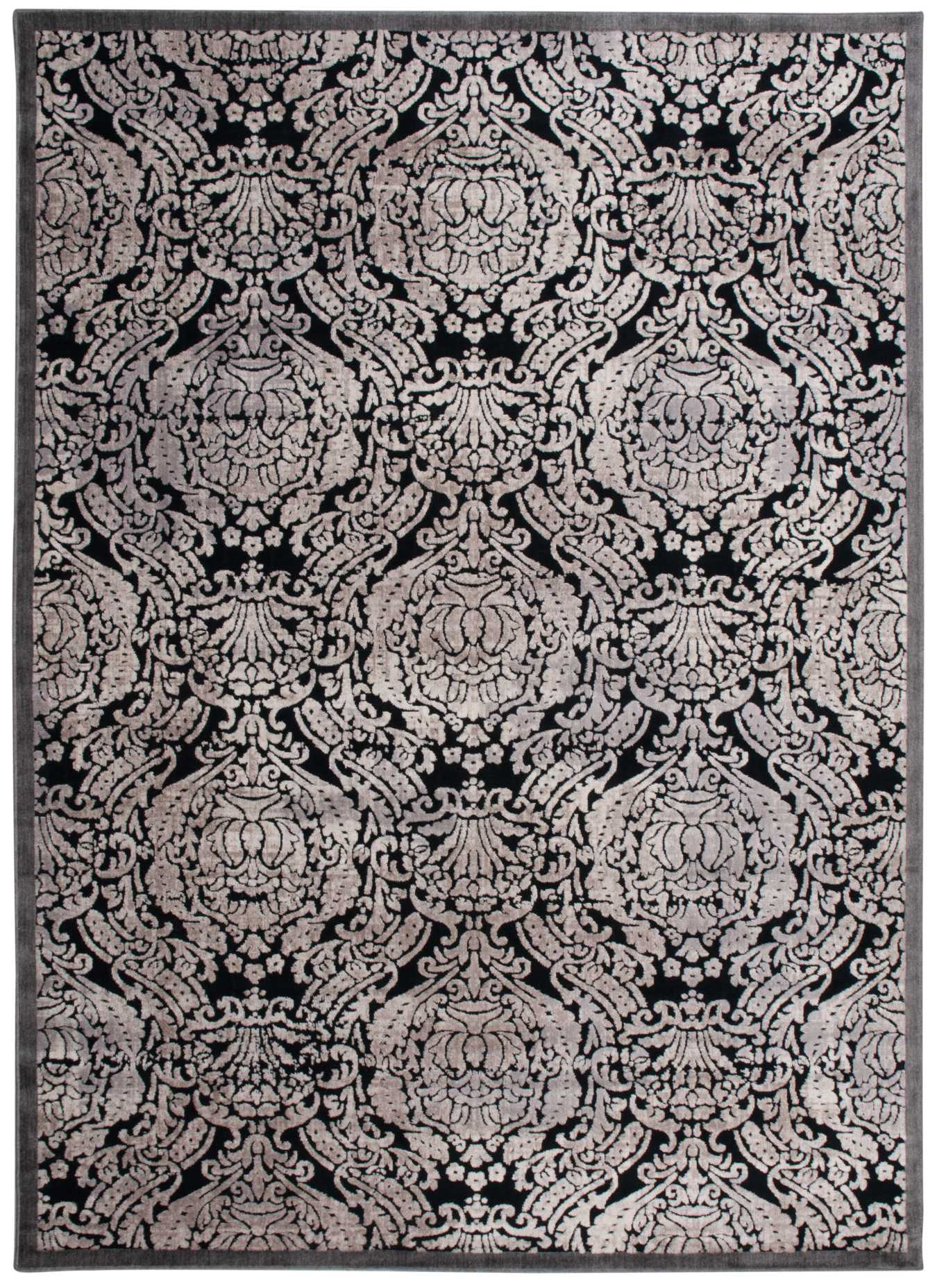 "Illuminate IL09 Black Area Rug-Area Rug-The Rug Truck-2'3"" x 3'9""-The Rug Truck"