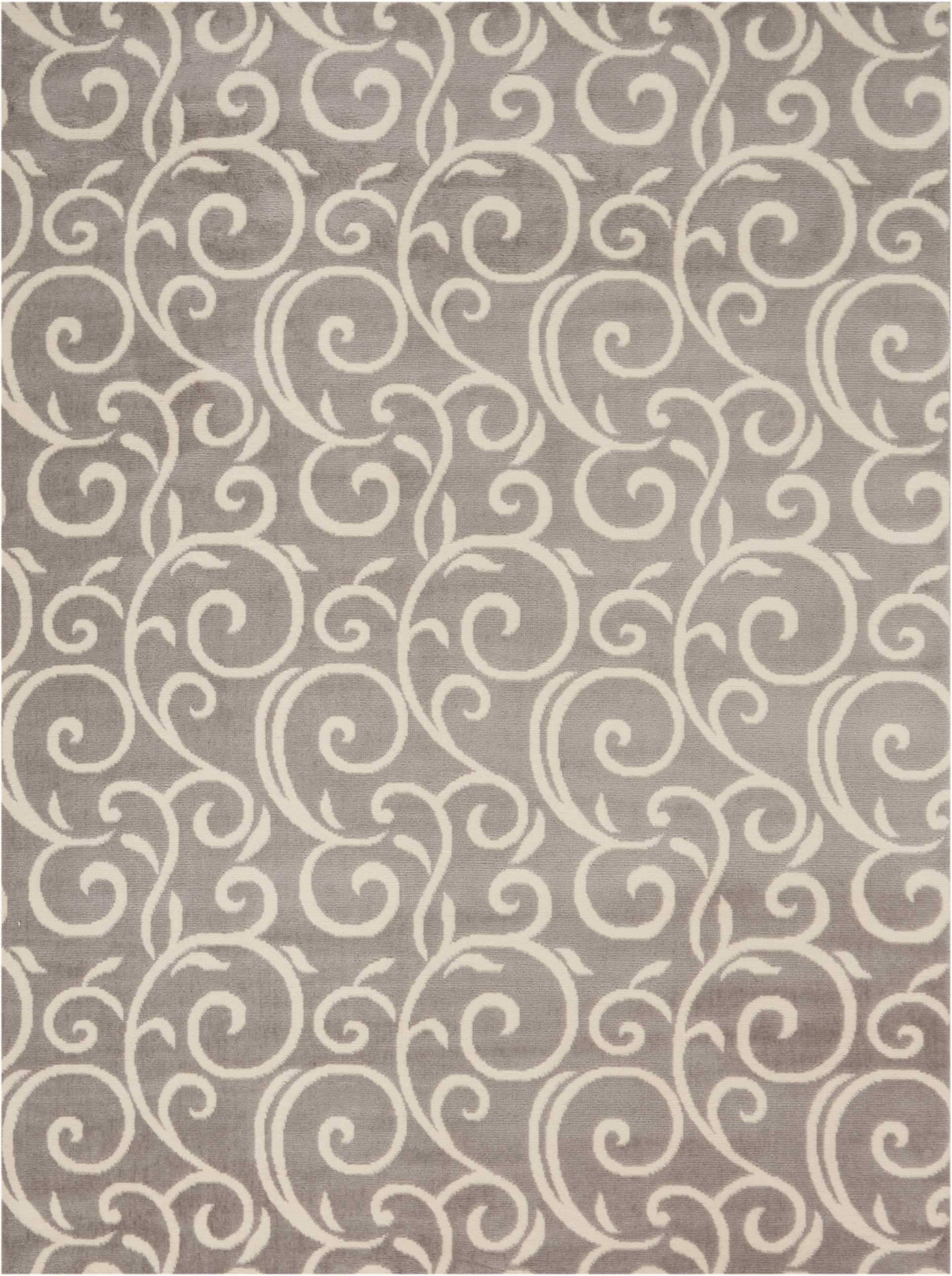 "Grafix GRF19 Grey Area Rug-Area Rug-Nourison-5'3"" x 7'3""-The Rug Truck"