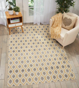 Grafix GRF22 White Area Rug-Area Rug-Nourison-The Rug Truck