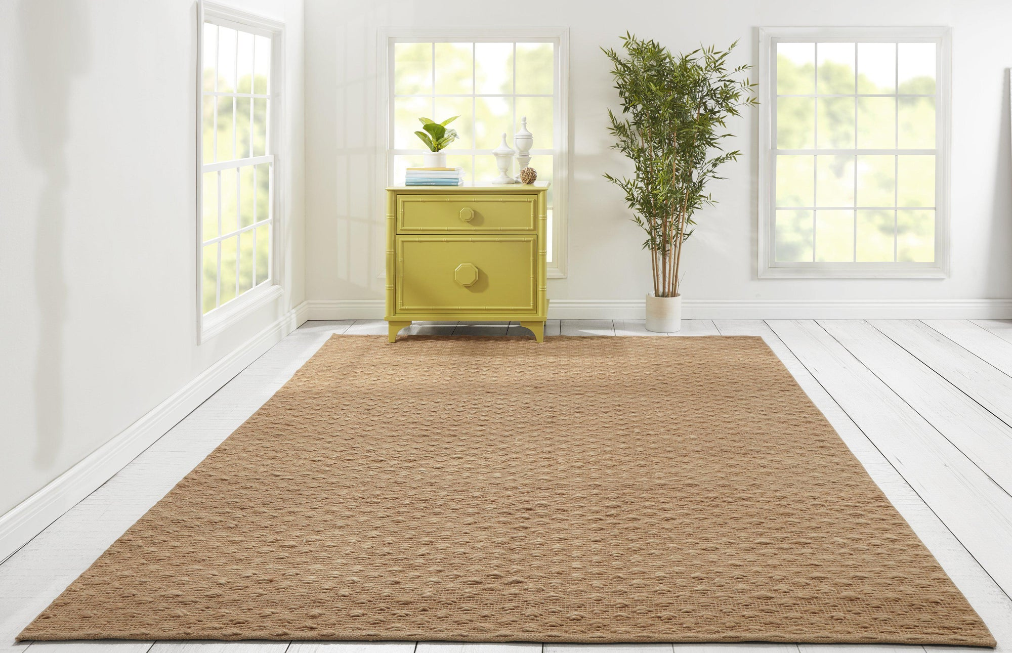 Madcap Cottage Hardwick Hall HRD-2 Natural Area Rug ( 8' X 10')