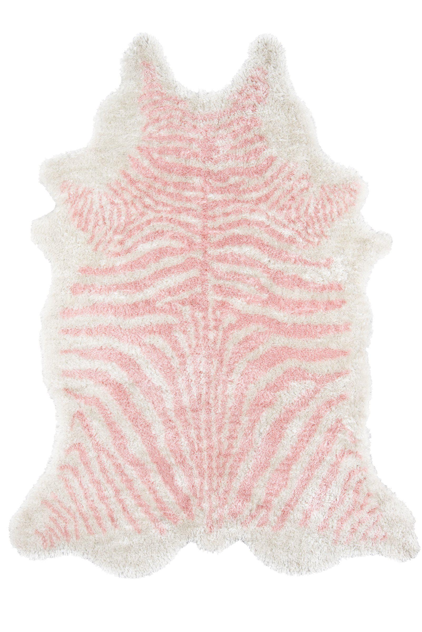 "Novogratz by Momeni Kalahari KAL-1 Domesticated Pink Area Rug-Area Rug-Momeni-3'6"" X 5'6""-The Rug Truck"