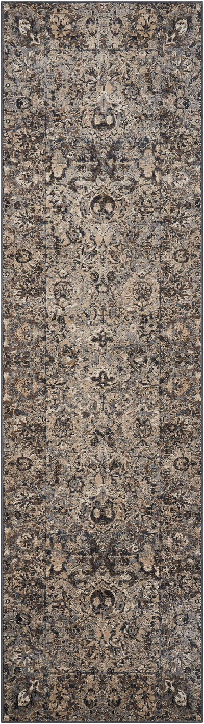 "kathy ireland HOME Malta Slate Area Rug-Area Rug-kathy ireland HOME-2'2"" x 7'7""-The Rug Truck"