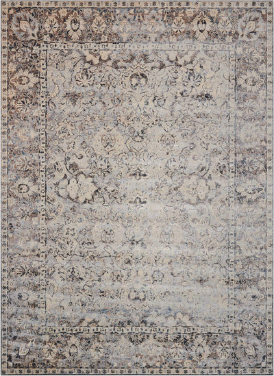 kathy ireland HOME Malta Slate Area Rug-Area Rug-kathy ireland HOME-The Rug Truck