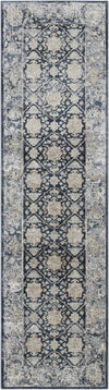 "kathy ireland HOME Malta Navy Area Rug-Area Rug-kathy ireland HOME-2'2"" x 7'7""-The Rug Truck"