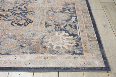 kathy ireland HOME Malta Navy Area Rug-Area Rug-kathy ireland HOME-The Rug Truck