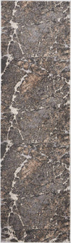 "kathy ireland HOME Heritage Grey Area Rug-Area Rug-kathy ireland HOME-2'2""X7'6""-The Rug Truck"