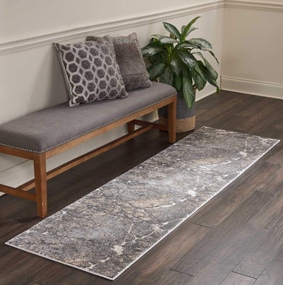 kathy ireland HOME Heritage Grey Area Rug-Area Rug-kathy ireland HOME-The Rug Truck