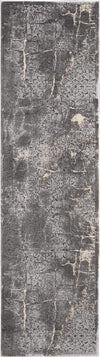 "kathy ireland HOME Heritage Charcoal Area Rug-Area Rug-kathy ireland HOME-2'2""X7'6""-The Rug Truck"