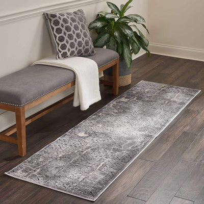 kathy ireland HOME Heritage Charcoal Area Rug-Area Rug-kathy ireland HOME-The Rug Truck