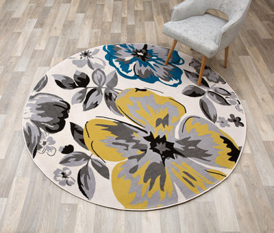 Newport 9098 Cream Area Rug