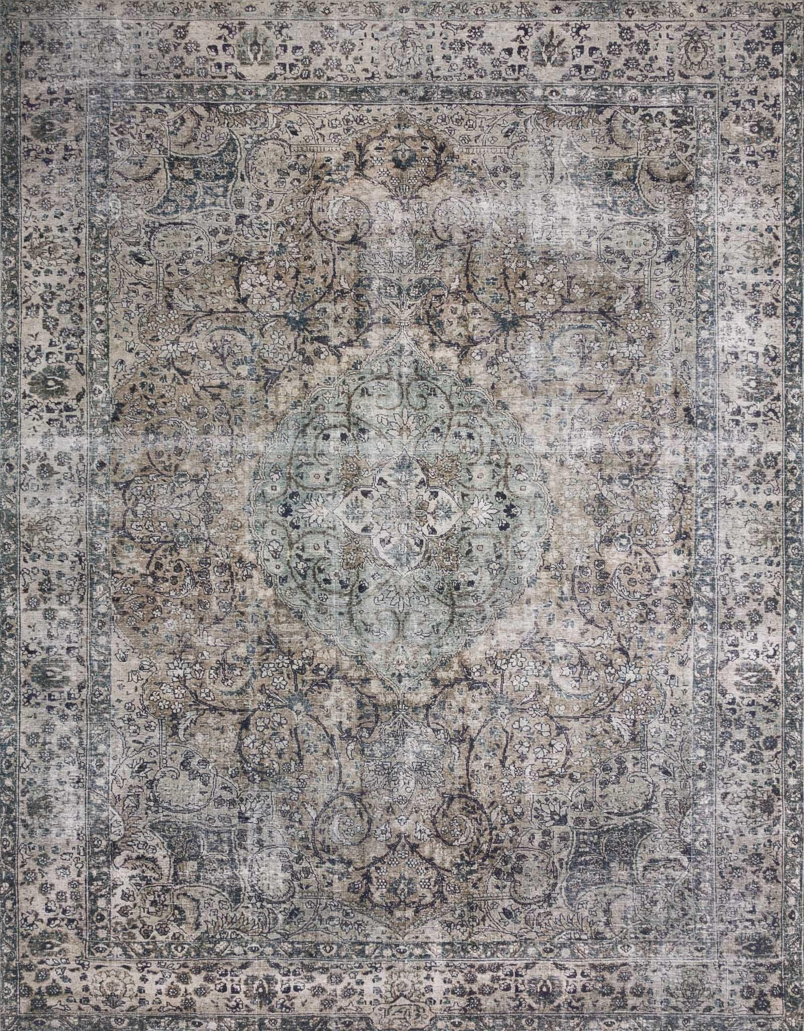 "Layla LAY-06 Taupe / Stone Area Rug-Area Rug-Loloi-2'-0"" x 5'-0""-The Rug Truck"