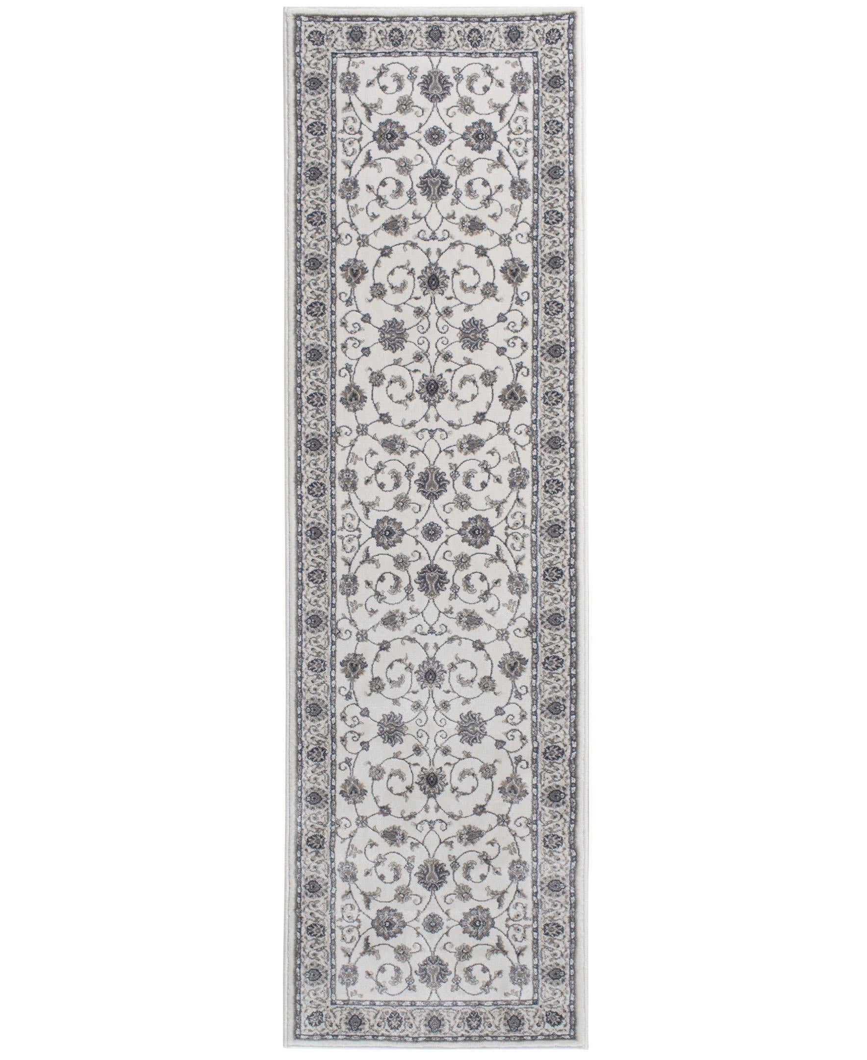 "Largo - Isfahan - Pearl-Area Rug-KM Home-3'3""x5'3""-The Rug Truck"