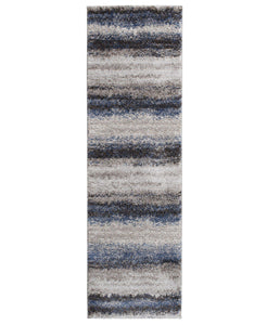 Leisure - Bay - Sea Blue-Area Rug-KM Home-2'3