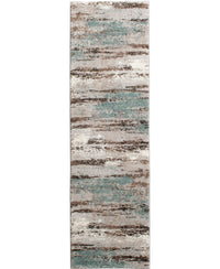 "Leisure - Cove - Mineral-Area Rug-KM Home-2'3""x7'7""-The Rug Truck"