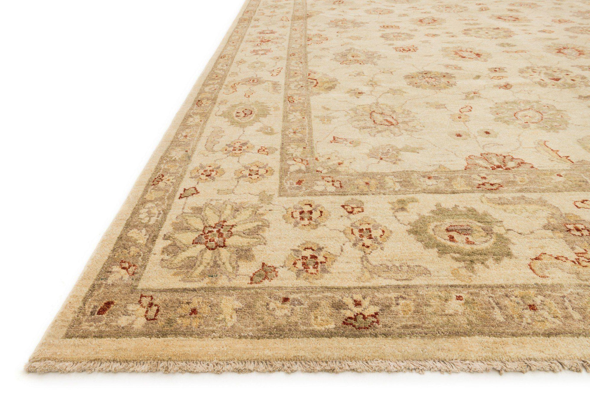 "Majestic MM-03 Ivory / Ivory Area Rug-Area Rug-Loloi-2'-0"" x 3'-0""-The Rug Truck"