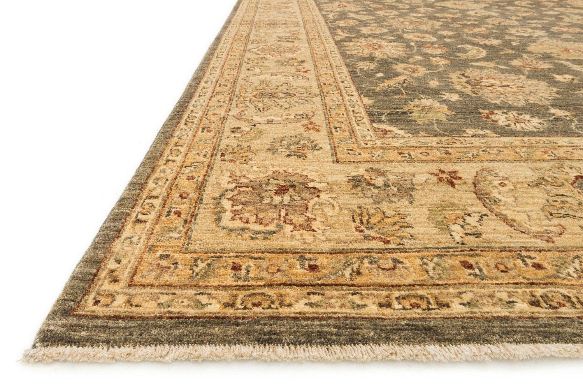 "Majestic MM-08 Smoke / Beige Area Rug-Area Rug-Loloi-2'-0"" x 3'-0""-The Rug Truck"