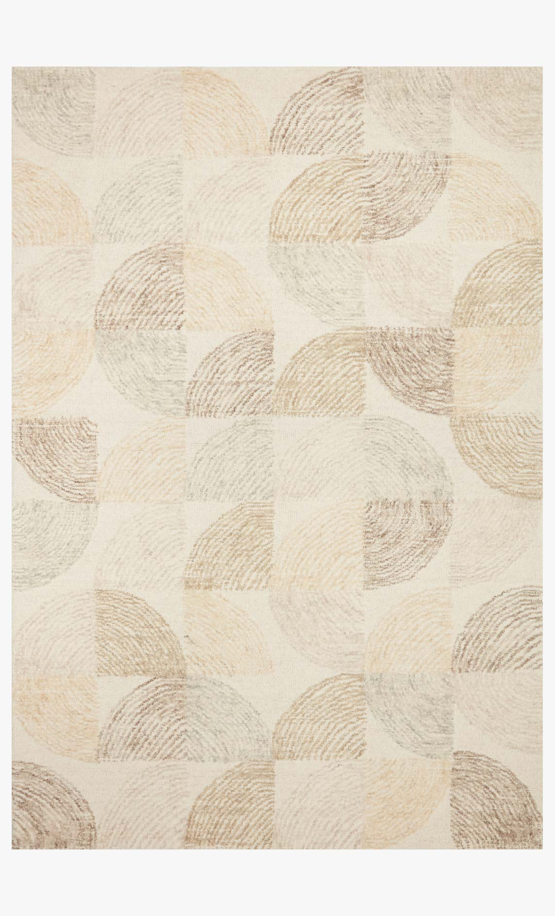 "Loloi MILO MLO-03 Pebble / Multi Area Rug (8'-6"" x 12')"