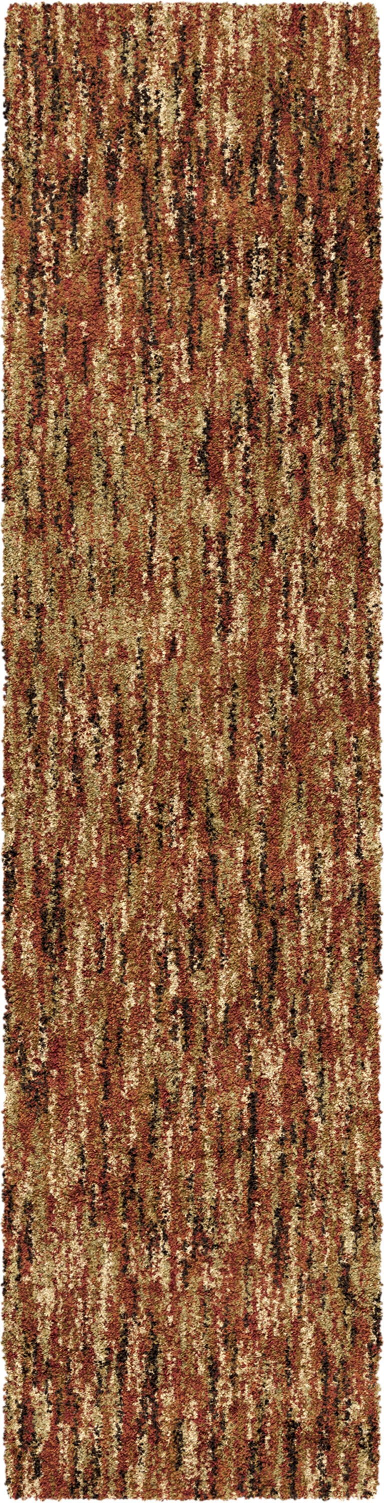 "Palmetto Living Next Generation Multi solid Red Area Rug - 7'10"" x 10'10"""