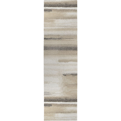 "Palmetto Living Mystical Modern Motion   Natural Area Rug - 2'3"" x 8'"