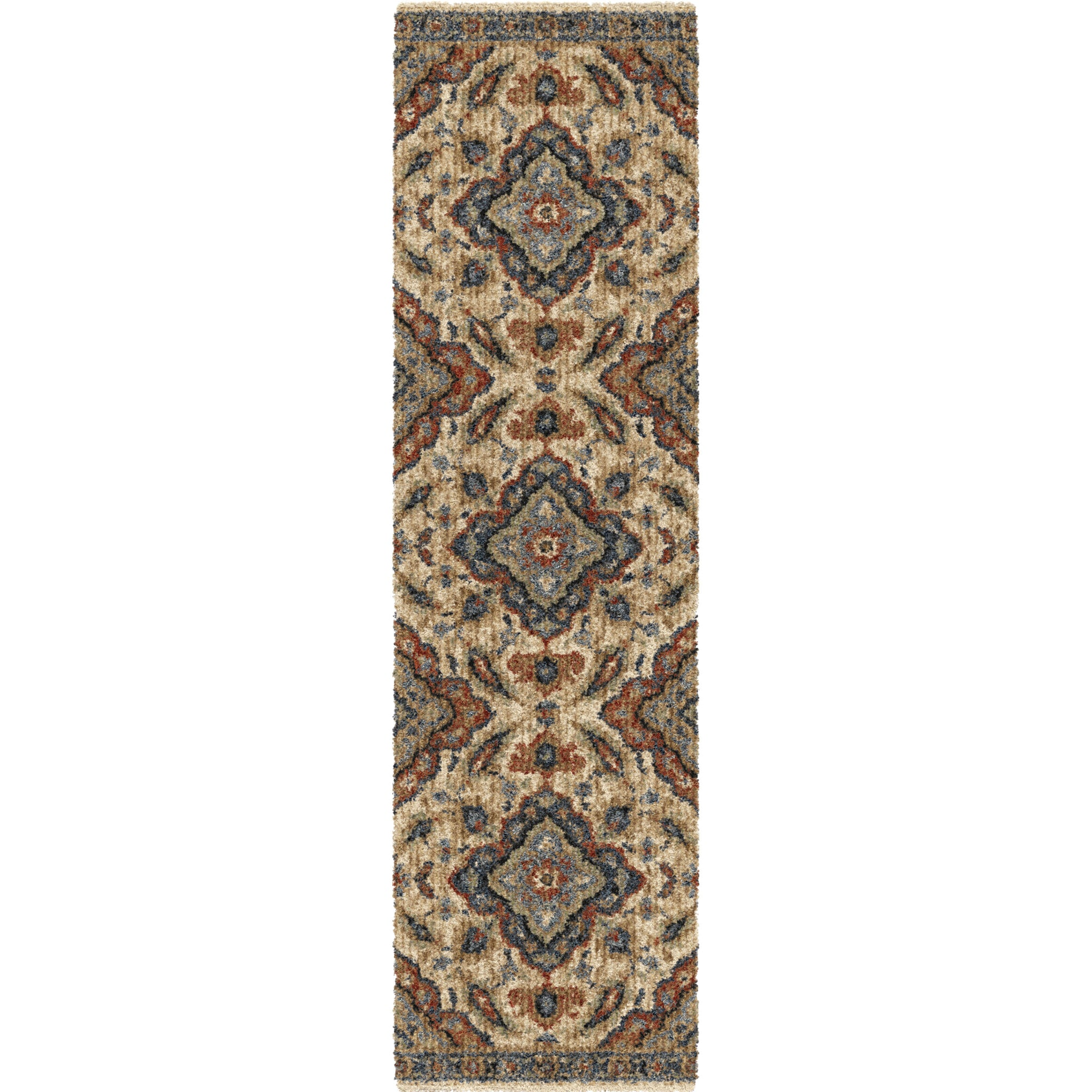 "Palmetto Living Next Generation Wada Off White Area Rug - 6'7"" x 9'8"""