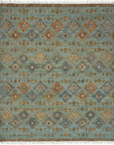 "Owen OW-04 Sea / Blue Area Rug-Area Rug-Loloi-2'-6"" x 8'-0""-The Rug Truck"