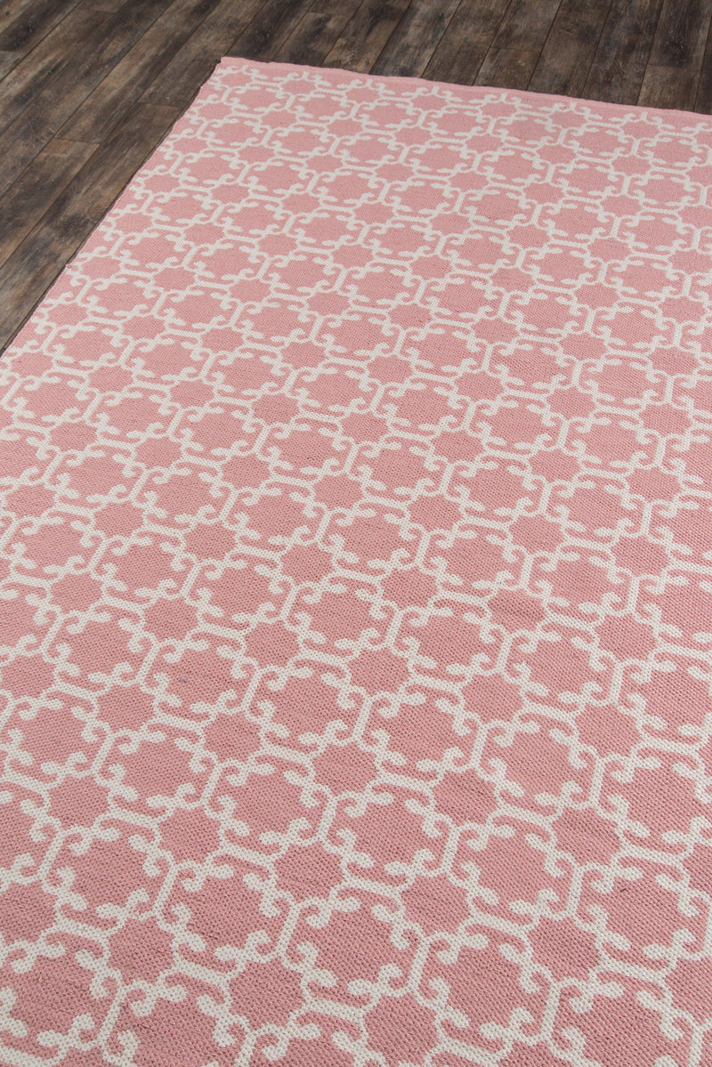 Madcap Cottage by Momeni Palm Beach Via Mizner Pink Indoor/Outdoor Area Rug-Area Rug-Momeni-2' X 3'-The Rug Truck