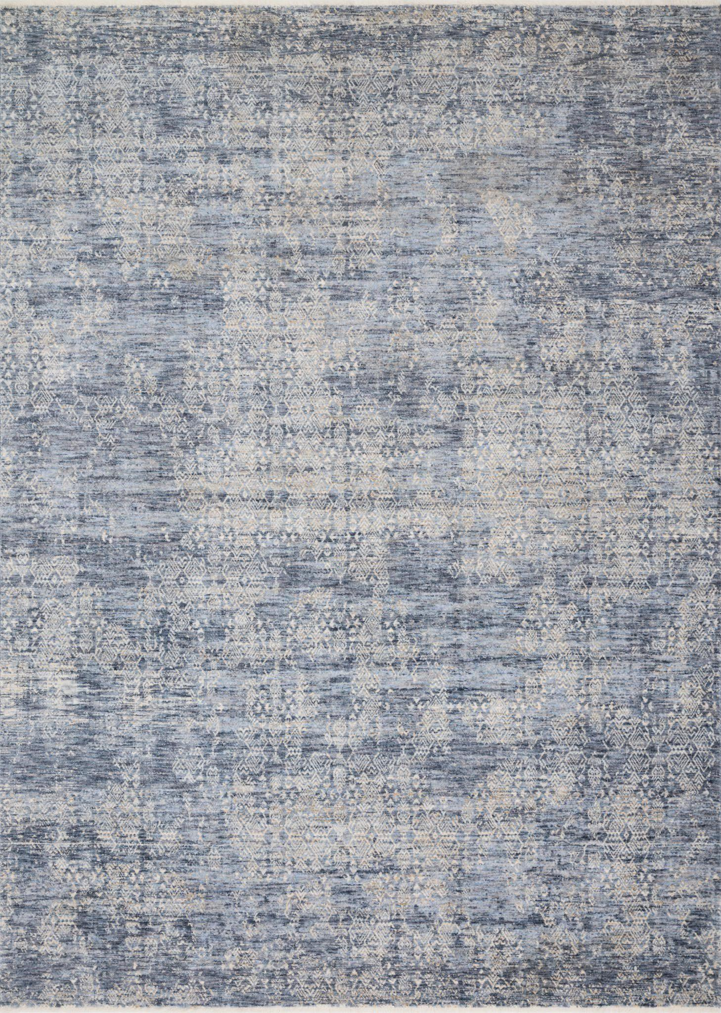 "Pandora PAN-03 Dark Blue Area Rug-Area Rug-Loloi-2'-0"" x 3'-4""-The Rug Truck"