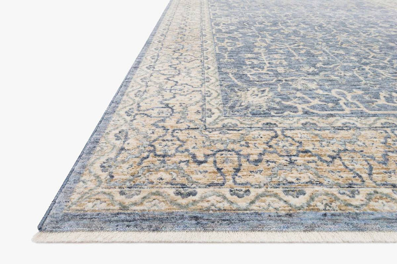 Pandora PAN-04 Dark Blue / Ivory Area Rug-Area Rug-Loloi-The Rug Truck