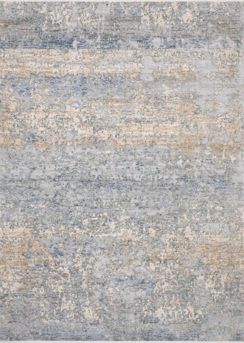 "Pandora PAN-05 Blue / Gold Area Rug-Area Rug-Loloi-2'-0"" x 3'-4""-The Rug Truck"