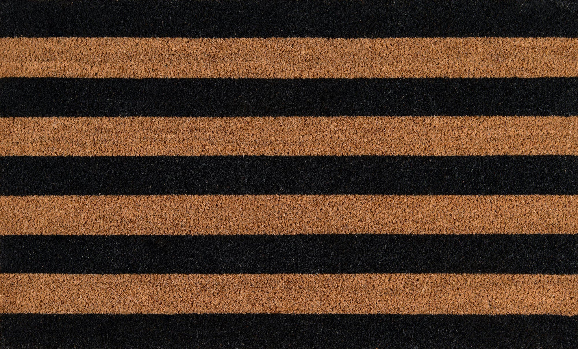 "Erin Gates by Momeni Park PAR-2 Stripe Black Area Rug-Area Rug-Momeni-1'6"" X 2'6""-The Rug Truck"