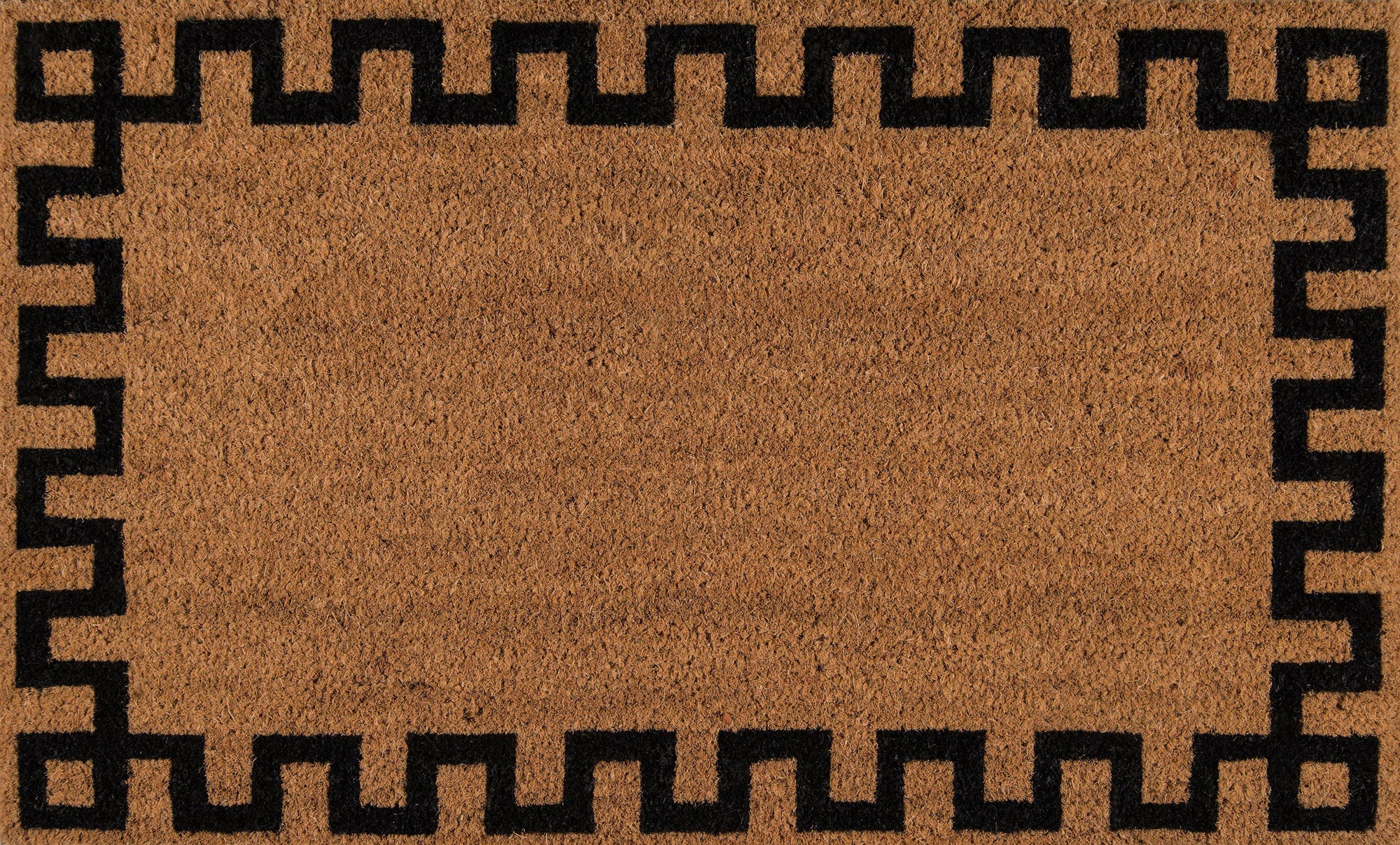 "Erin Gates by Momeni Park PAR-4 Greek Key Natural Area Rug-Area Rug-Momeni-1'6"" X 2'6""-The Rug Truck"