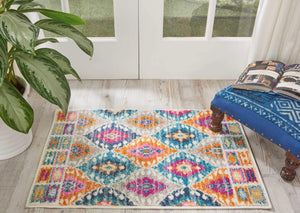 Passion PSN02 Multicolor Area Rug-Area Rug-Nourison-The Rug Truck