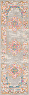 "Passion PSN03 Grey Area Rug-Area Rug-Nourison-1'10"" x 6'-The Rug Truck"