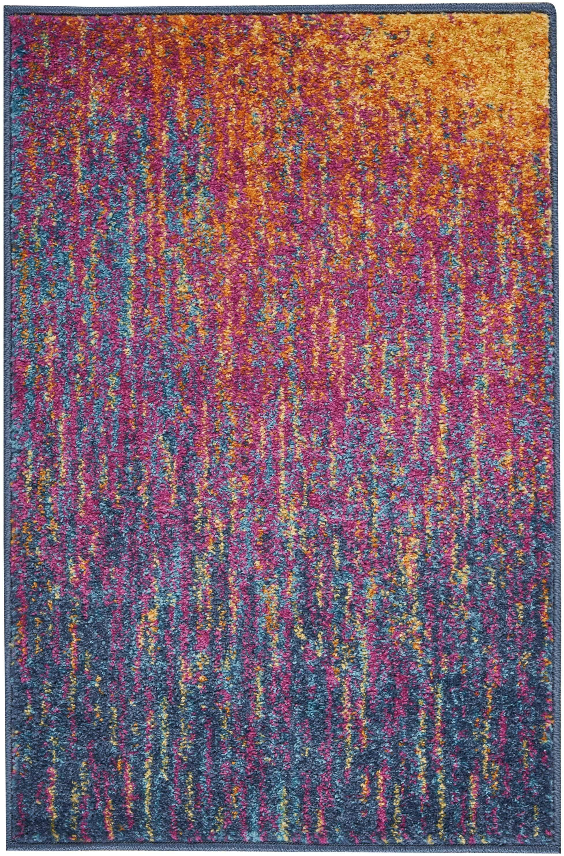 "Passion PSN09 Multicolor Area Rug-Area Rug-Nourison-1'10"" x 2'10""-The Rug Truck"