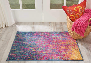 Passion PSN09 Multicolor Area Rug-Area Rug-Nourison-The Rug Truck