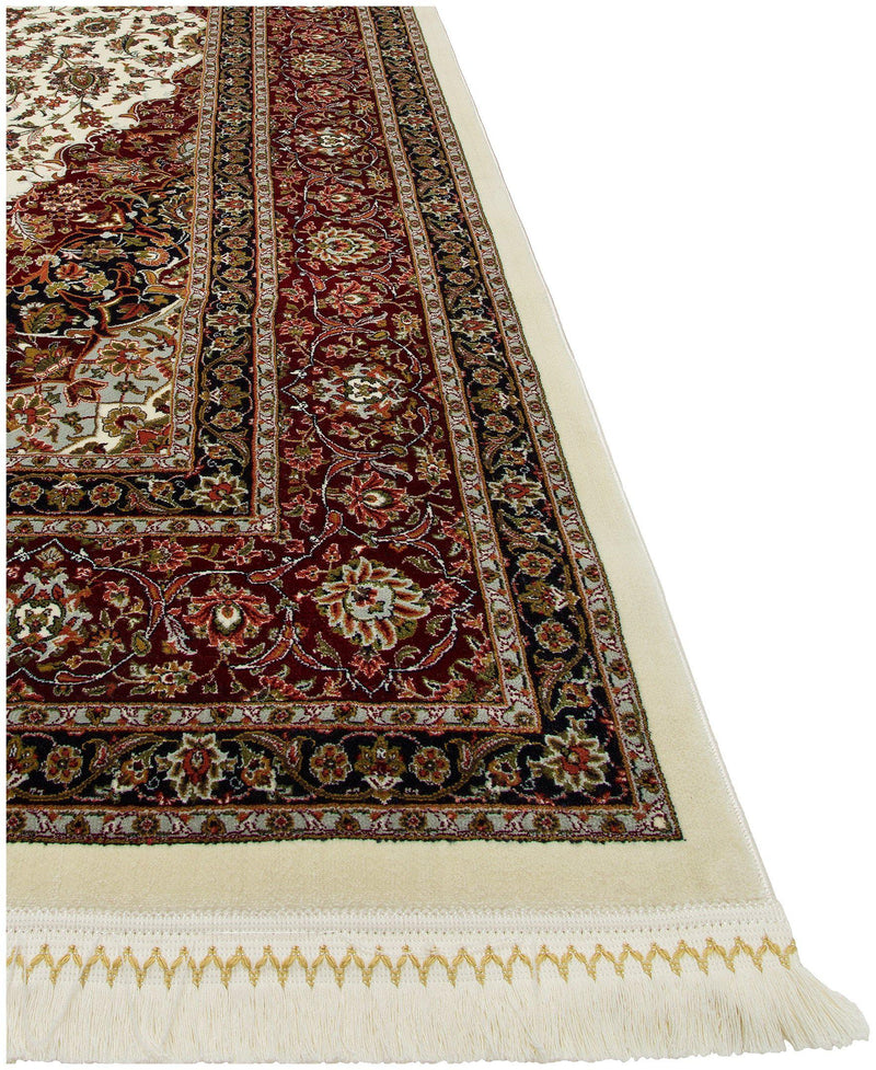 Persian Treasures - Kashan - Cream-Area Rugs-Kenneth Mink Home-2' x 3 '-The Rug Truck