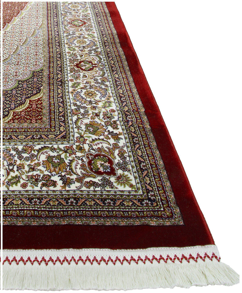 Persian Treasures - Mahi - Red-Area Rugs-Kenneth Mink Home-2' x 3 '-The Rug Truck
