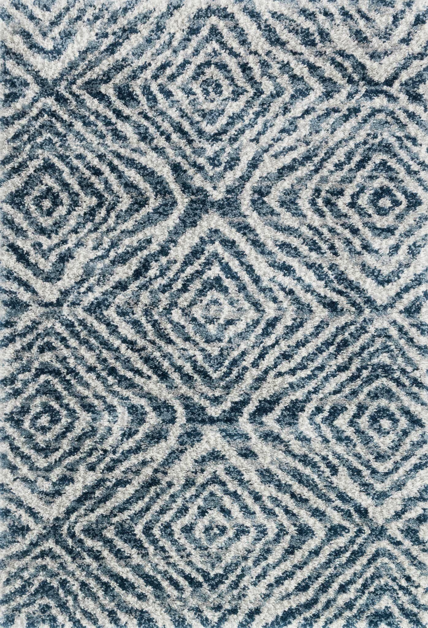 "Quincy QC-01 Ocean / Pebble Area Rug-Area Rug-Loloi-2'-3"" x 4'-0""-The Rug Truck"