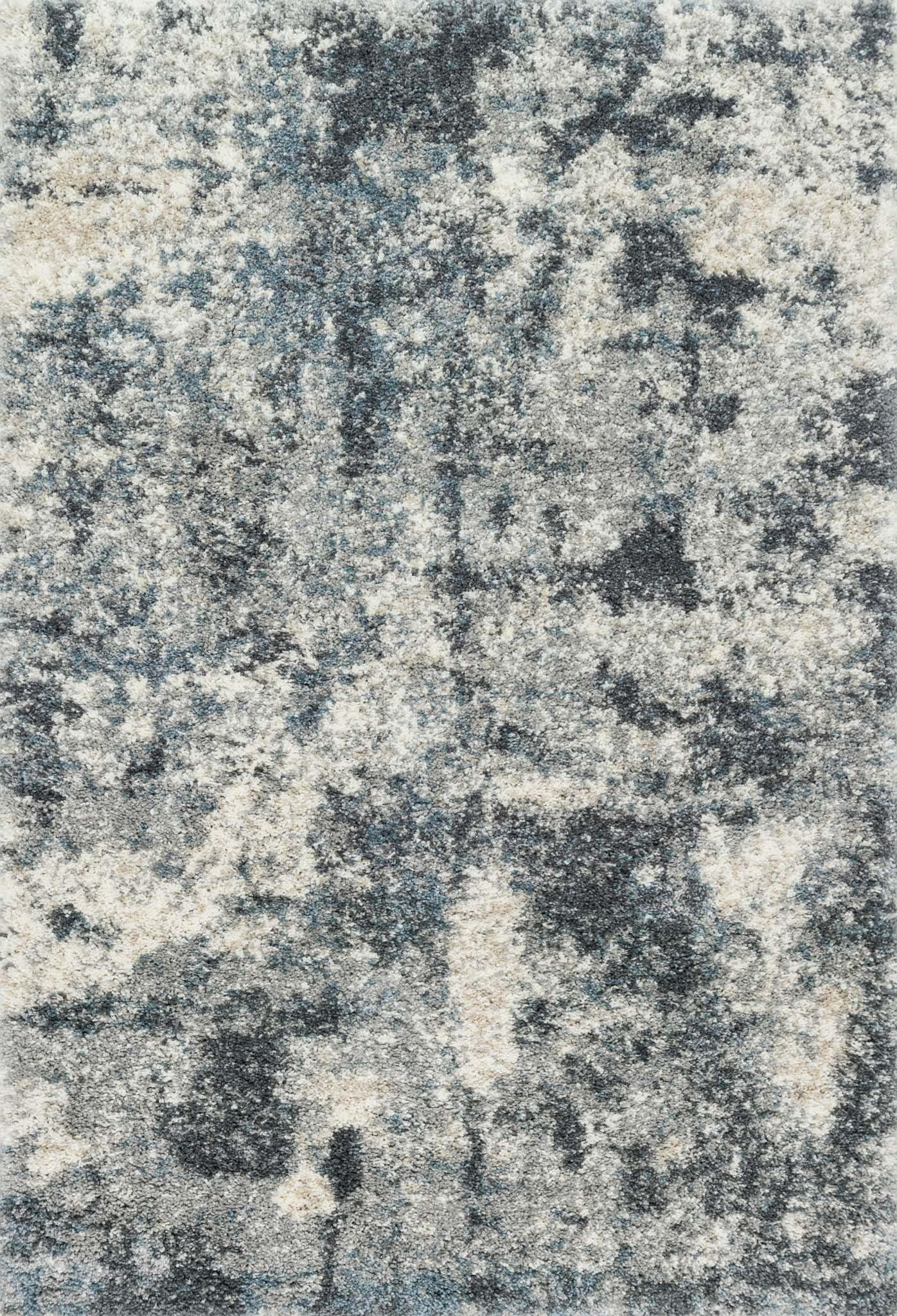 "Quincy QC-06 Slate Area Rug-Area Rug-Loloi-2'-3"" x 4'-0""-The Rug Truck"