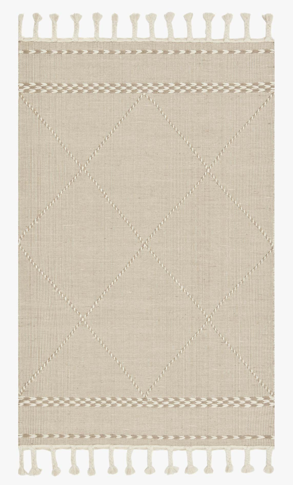 "Loloi II SAWYER SAW-03 Sand Area Rug (7'-6"" x 9'-6"")"