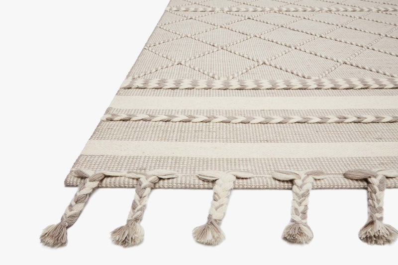 "Loloi II SAWYER SAW-05 Silver Area Rug (7'-6"" x 9'-6"")"